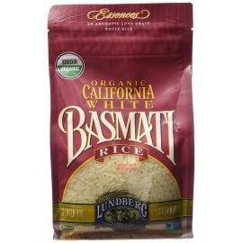 Lundberg Organic Long Grain California White Basmati Rice - 2lbs
