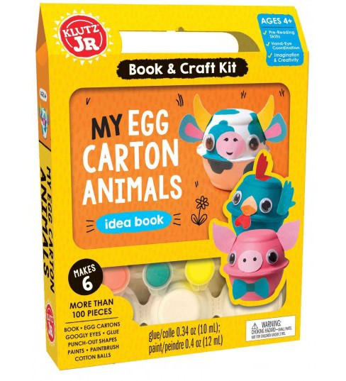 My Egg Carton Animals (Paperback) (Klutz Editors) - image 1 of 1