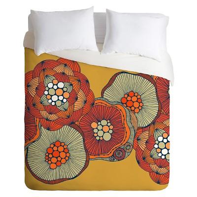 Valentina Ramos OCountopus Duvet King Yellow - Deny Designs®