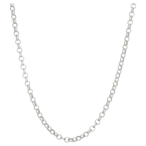 Tiara Sterling Silver Rolo Chain Necklace - image 1 of 1