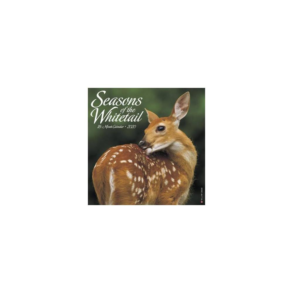 Seasons of the Whitetail 2020 Calendar - (Paperback)