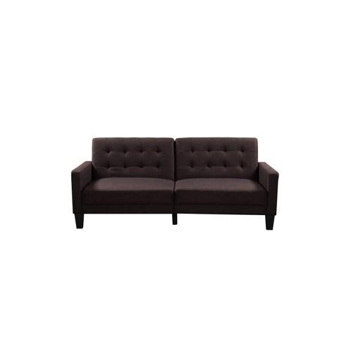 Oakland Convertible Sofa Sand Serta
