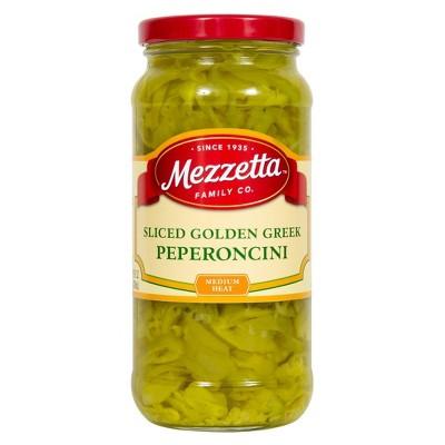 Mezzetta Deli-Sliced Golden Greek Pepperoncini - 16oz
