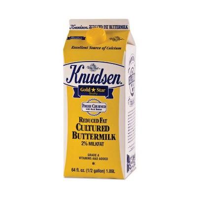 Knudsen Low Fat Cultured Buttermilk - 0.5gal