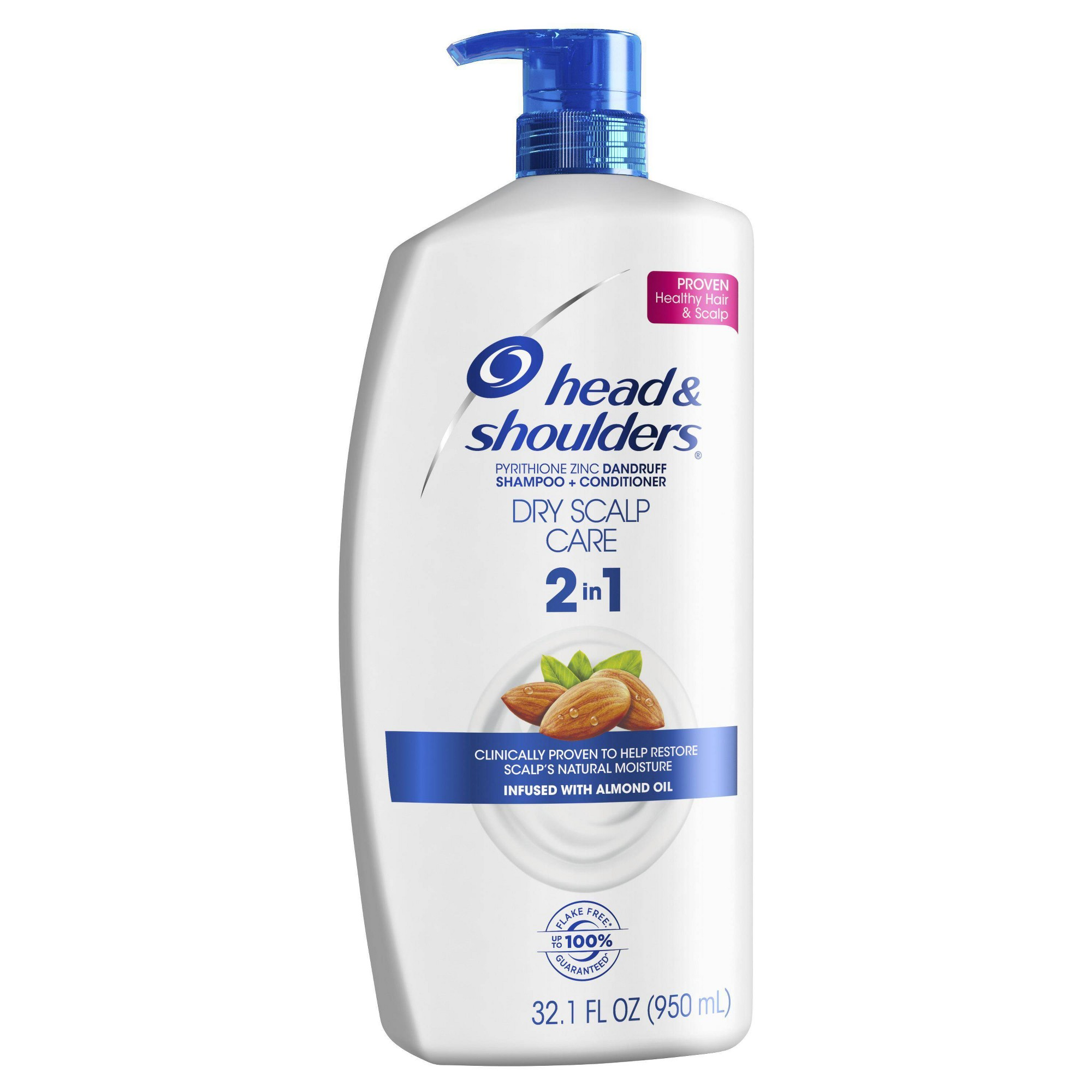 Head & Shoulders Itchy Scalp Care 2-in-1 Dandruff Shampoo + Conditioner with Eucalyptus - 13.5 fl oz, Size: 33.8