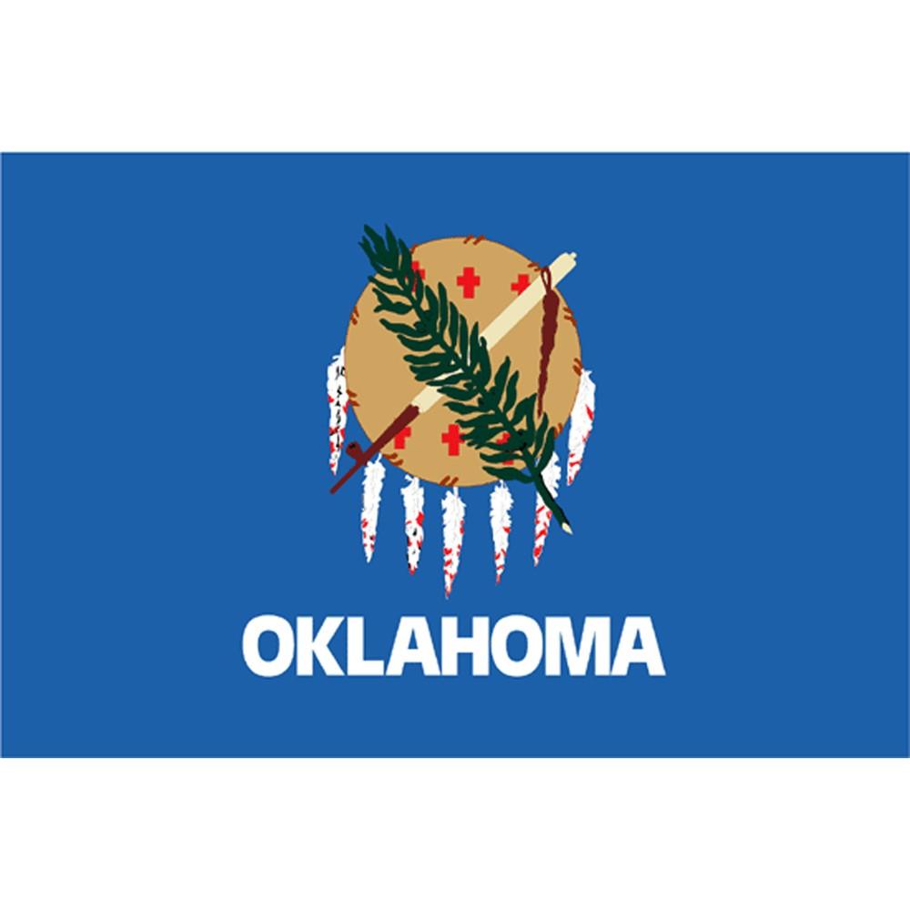 Oklahoma State Flag - 4' x 6'