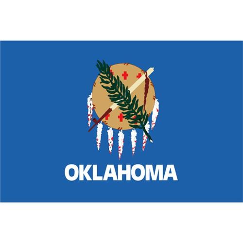 Halloween Oklahoma State Flag - 3' x 5'