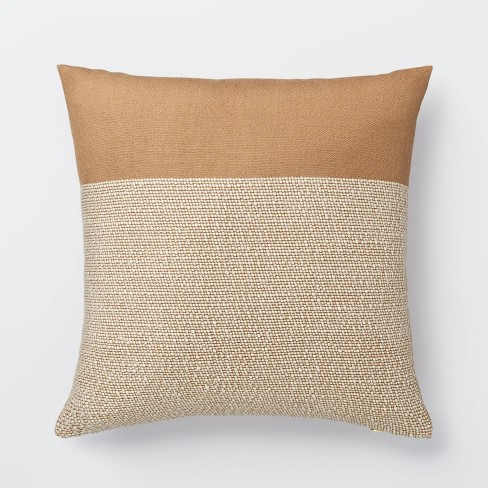 Color Block Throw Pillow - Threshold™ designed with Studio McGee - image 1 of 4