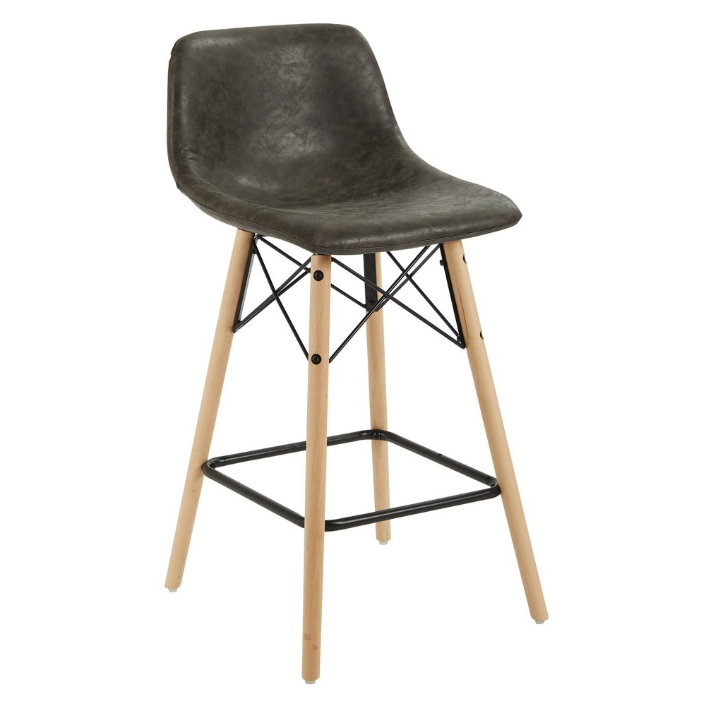 "Image of ""26"""" Allen Counter Stool Dark Gray - OSP Home Furnishings"""