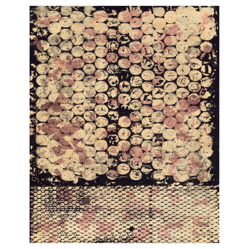 Speckle Matter I Unframed Wall Canvas Art - (24X30), Multi-Colored