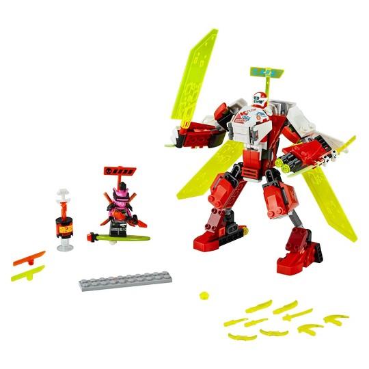 LEGO NINJAGO Kai's Mech Jet 71707 Toy Plane Building Kit image number null