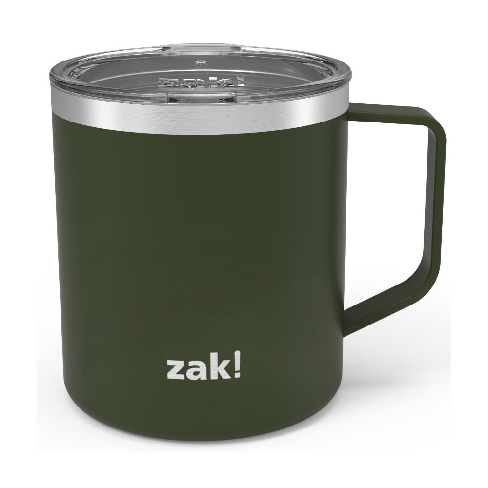Zak Designs 13oz Stainless Steel Insulated Camp Mug - Green
