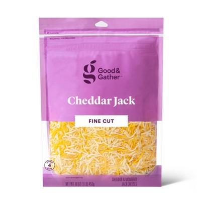 Finely Shredded Cheddar Jack Cheese - 16oz - Good & Gather™