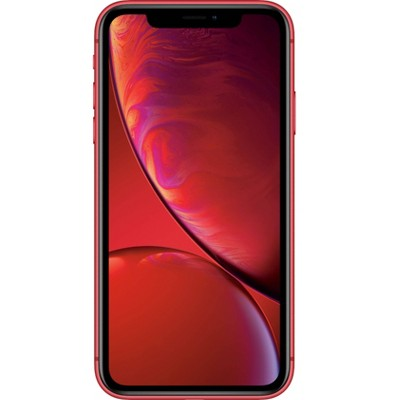 Apple iPhone Unlocked XR Pre-Owned (256GB) GSM/CSMA Phone - Red