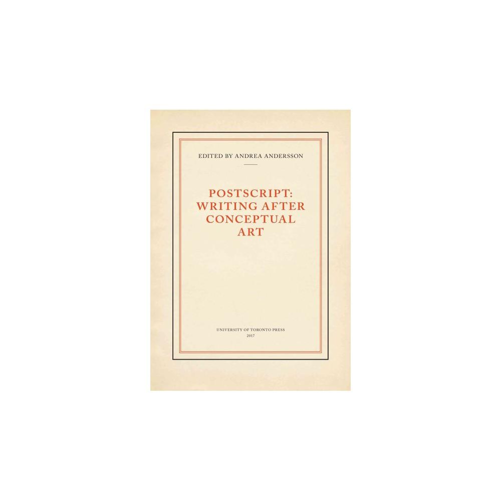 Postscript : Writing Ater Conceptual Art - 1 (Hardcover)