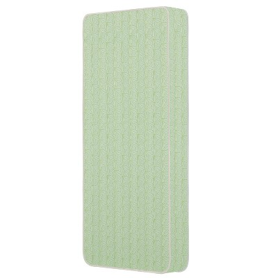 Dream On Me Story Time 2-Sided Crib & Toddler 150 Coil Mattress - Green