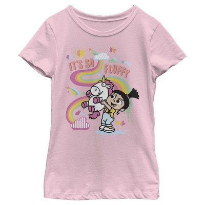 Girl's Despicable Me Minions Its So Fluffy Unicorn T-Shirt