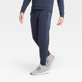 Men's Premium Fleece Jogger Pants - All in Motion™ Navy S