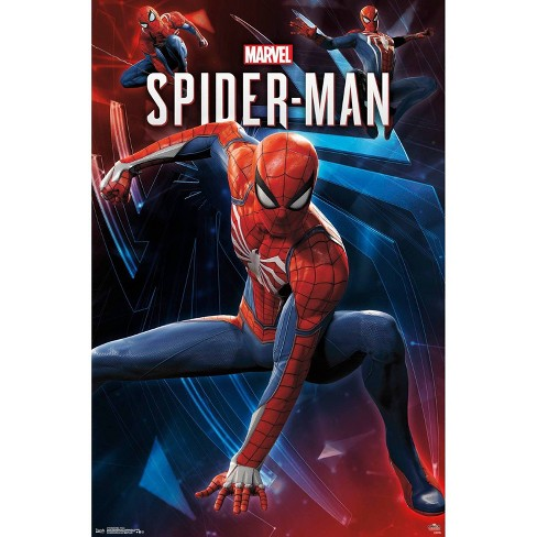 """34""""x23"""" Spider-Man Poses Unframed Wall Poster Print - Trends International - image 1 of 2"""