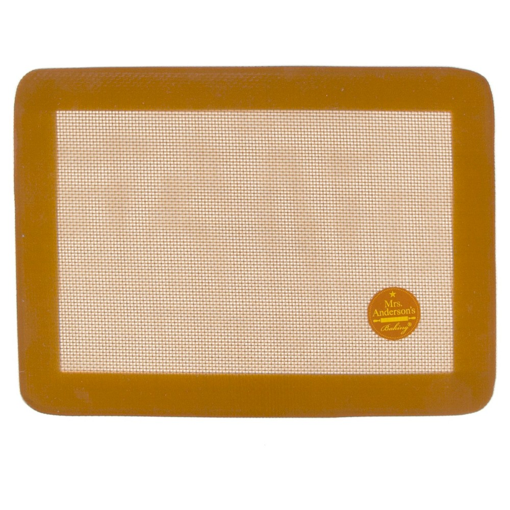 "Image of ""Mrs. Anderson's Non-Stick Silicone Toaster Oven Baking Mat - 7.9"""" x 10.75"""", Brown"""