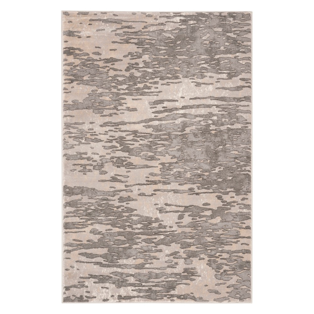 33X5 Solid Accent Rug Gray - Safavieh Top