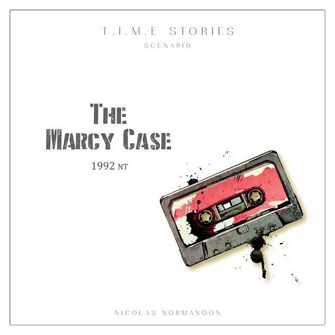 Asmodee T.I.M.E Stories The Marcy Case Game - image 1 of 3