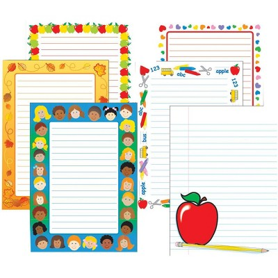 Creative Shapes Assorted Notepads, 5 x 7 Inches, 50 Sheets, set of 6