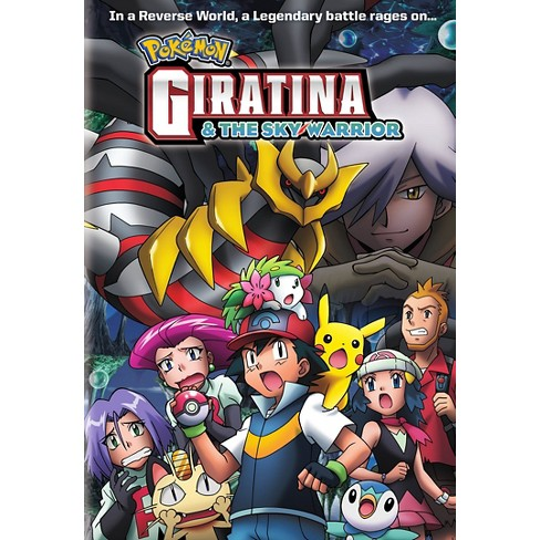 Pokemon Giratina The Sky Warrior Dvd Video Target