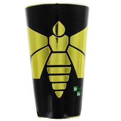 Just Funky Breaking Bad Yellow Moth 16oz Foil Print Pint Glass