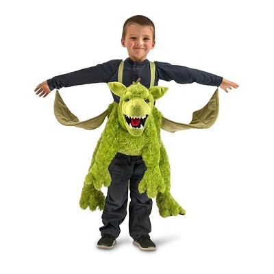 Princess Paradise Green Ride-In Dragon One Size Fits Most Child Costume
