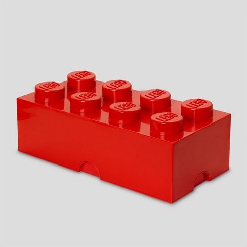 Lego Storage Brick 8 Bright Red - image 1 of 4