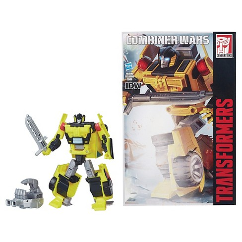 Transformers Generations Combiner Wars Deluxe Class Sunstreaker Figure - image 1 of 3