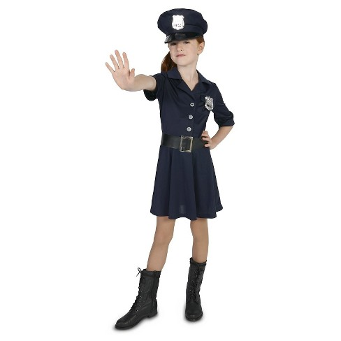 8a863105abe Girls' Police Officer Costume