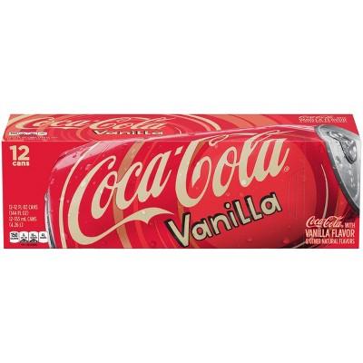 Coca-Cola Vanilla - 12pk/12 fl oz Cans