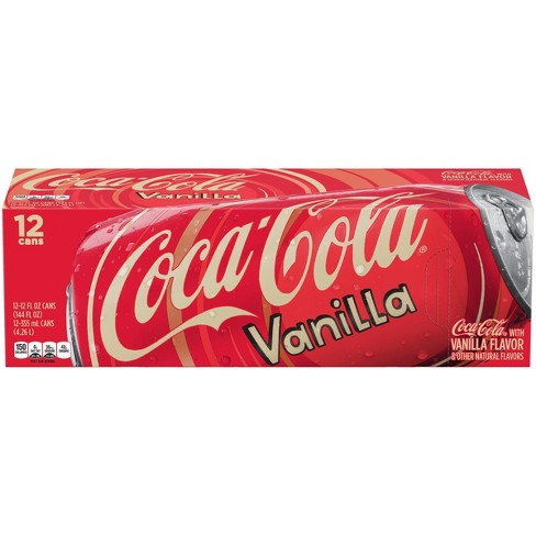 Coca-Cola Vanilla - 12pk/12 fl oz Cans - image 1 of 3