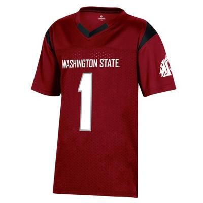 NCAA Washington State Cougars Boys' Short Sleeve Jersey