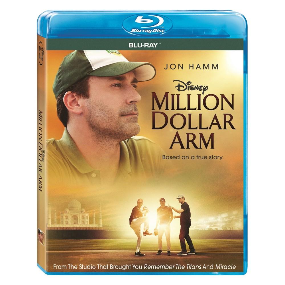 Million Dollar Arm Blu Ray