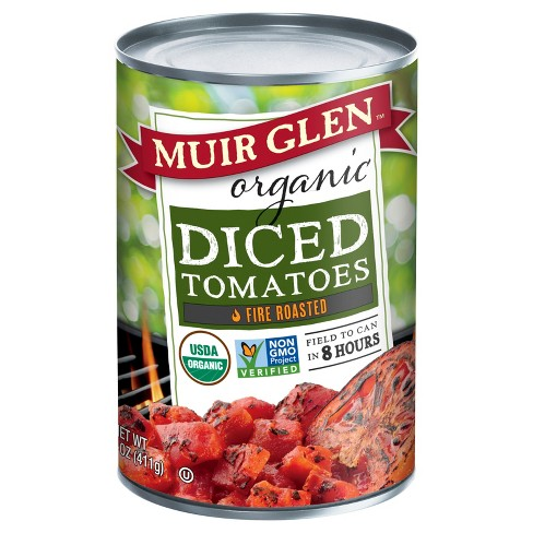 Muir Glen Fire Roasted Diced Tomatoes 14 oz - image 1 of 1