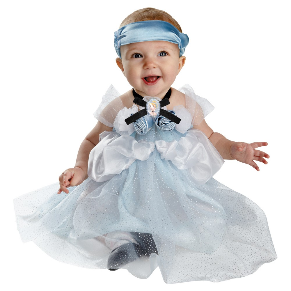 Image of Halloween Baby Girls' Cinderella Costume 12-18M - Disguise, Girl's, MultiColored