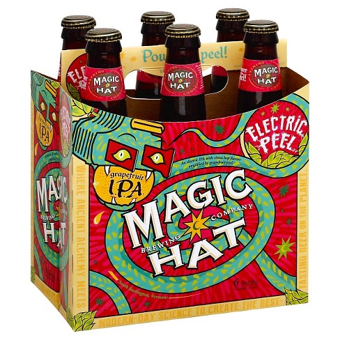 Magic Hat® Electric Peel Grapefruit IPA - 6pk / 12oz Bottles - image 1 of 1