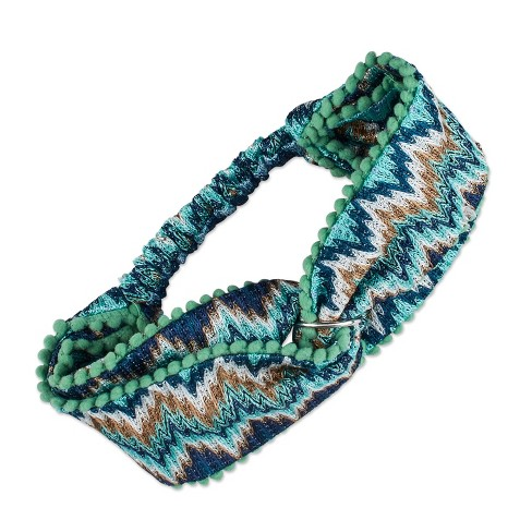 Sincerely Jules by Scunci Headwrap with Lurex Galaxy Glitter - 1ct - image 1 of 4