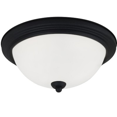 Generation Lighting Geary 1 light Blacksmith Ceiling Fixture 77063-839