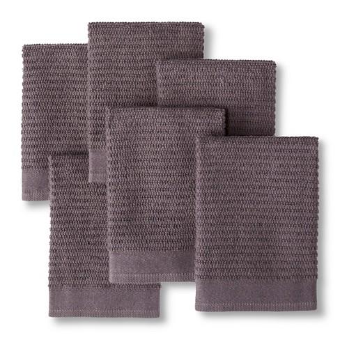 Earth Gray Dish Towel 6 Pk Room Essentials Target
