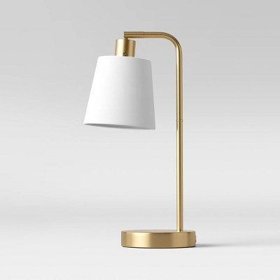 Shaded Arc Desk Lamp Brass - Project 62™