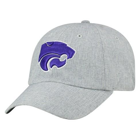 online store 487d8 8fd7d Kansas State Wildcats Baseball Hat Grey