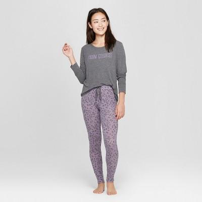 Women's Cozy Pajama Set - Xhilaration™ Purple XS