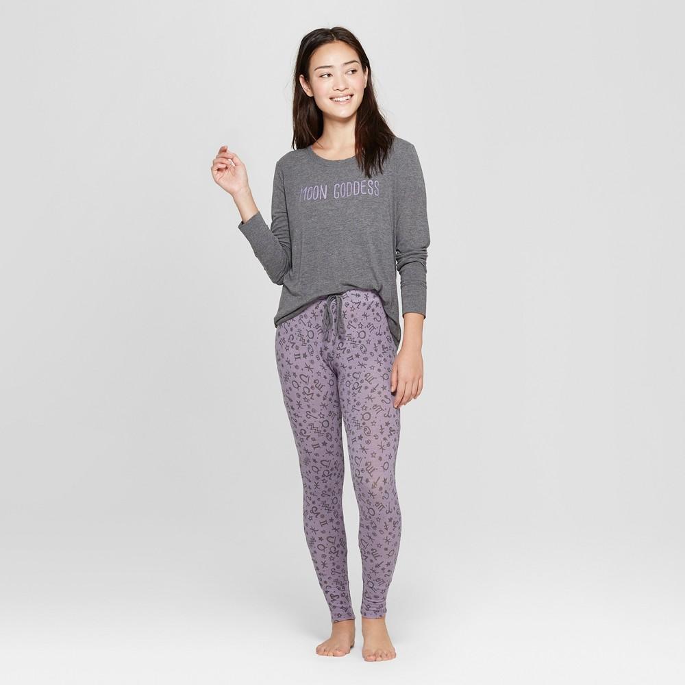 Women's Cozy Pajama Set - Xhilaration Purple XL