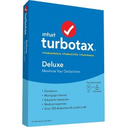 TurboTax Deluxe State 2019
