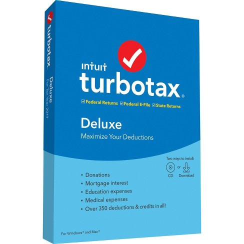 TurboTax Deluxe State 2019 - image 1 of 1