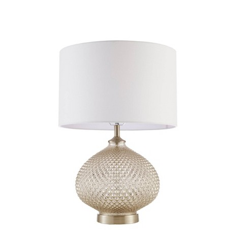 Alexandria Rounded Table Lamp Silver (Lamp Only) - image 1 of 4